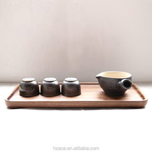 Walnut Wood Tray Wooden plates Tea Tray