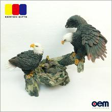 Garden Decoration Custom Animal Sculpture Resin Eagle Statue For Sale