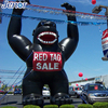 Giant black strong King Kong inflatable advertisement for sale