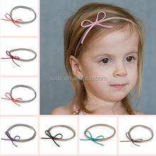 free shipping 22 colors in stock baby nylon bow <strong>headband</strong> kids <strong>headbands</strong>