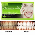Harmony life professional dental non peroxide teeth whitening strips private label