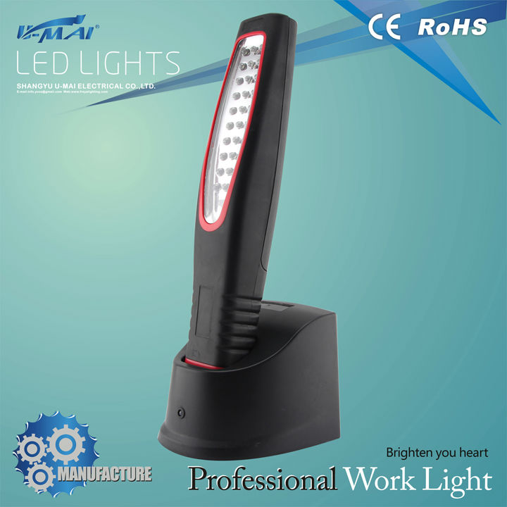 2014 led work light 100 - 240 V led rechargeable working light Car work light led