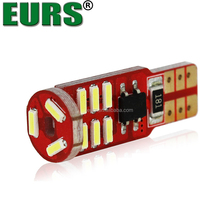 EURS hot sales 15smd 12v canbus 5.5w T10 car lamp 6000k 4014 led auto clearance lights
