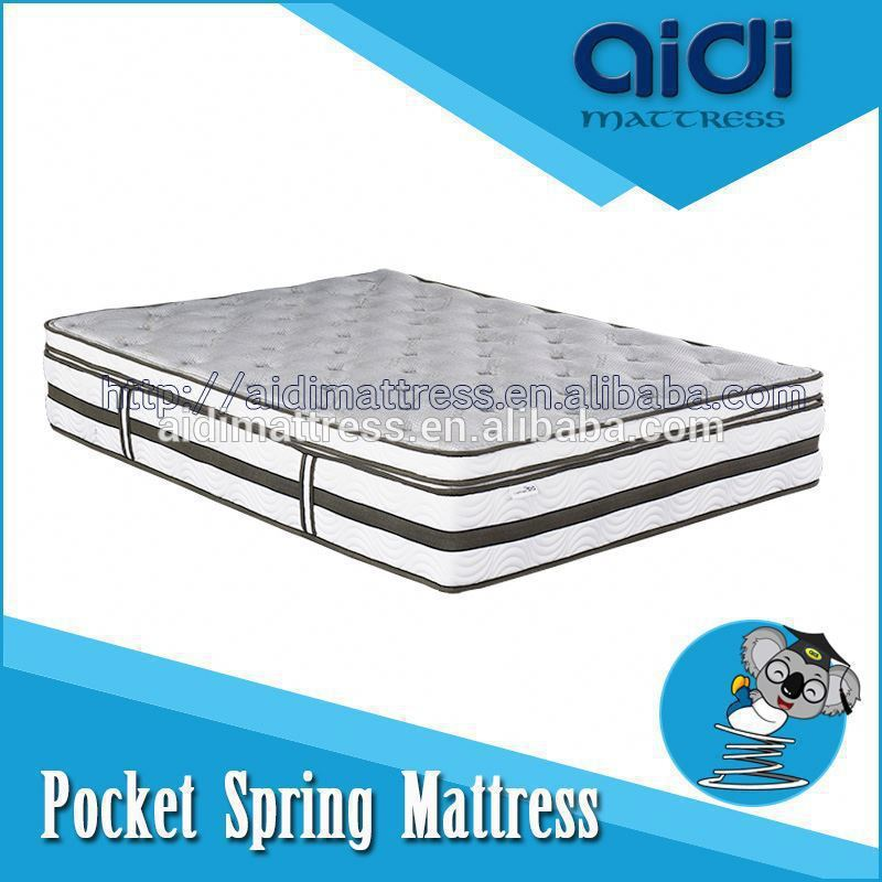 Modern Design King Size Box Spring Mattress Luxury Motel