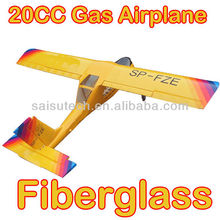 rc fiberglass model airplane 20cc gas engine rc airplane model wilga 20cc