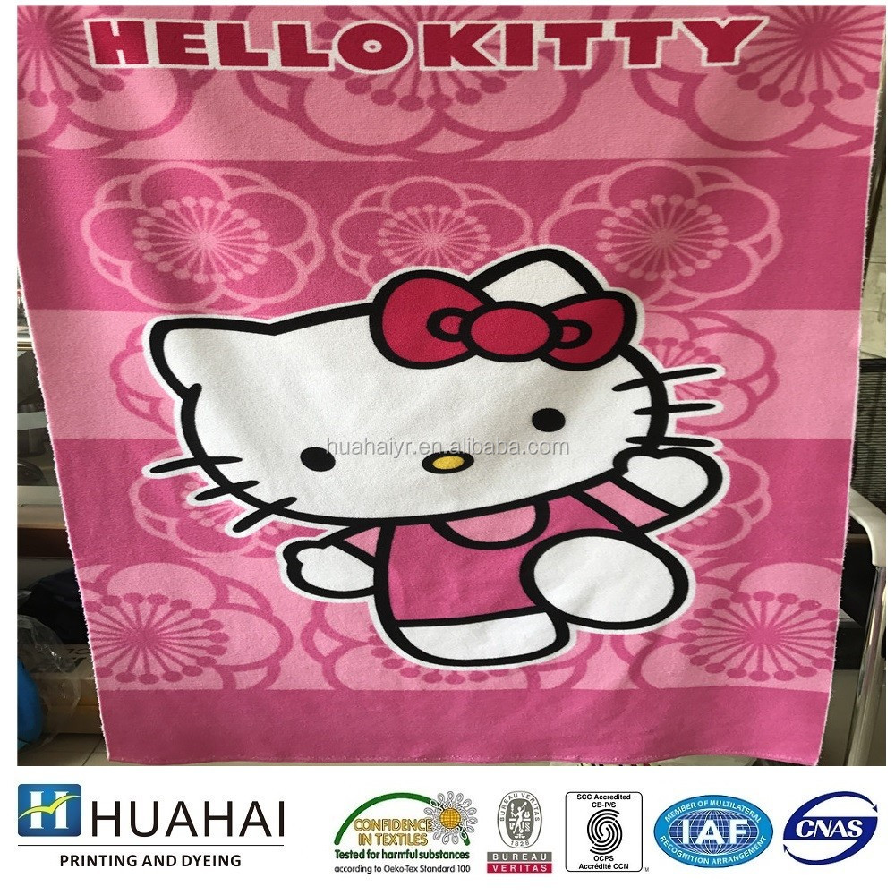 China beach sports towel manufacturer custom printed microfiber towel