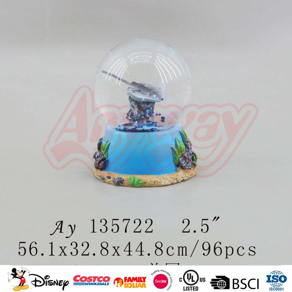 Brand new skiing player snow globe souvenir gifts