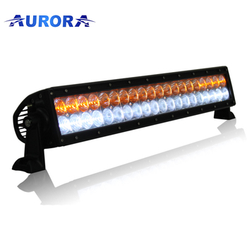 All weather light fog amber light led off road bar high power