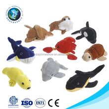 Various Assortment Samll Stuffed Soft Animal Plush Sea Otter Toys For Kids Fashion Sea Life Kids Play Set Plush Sea Animal