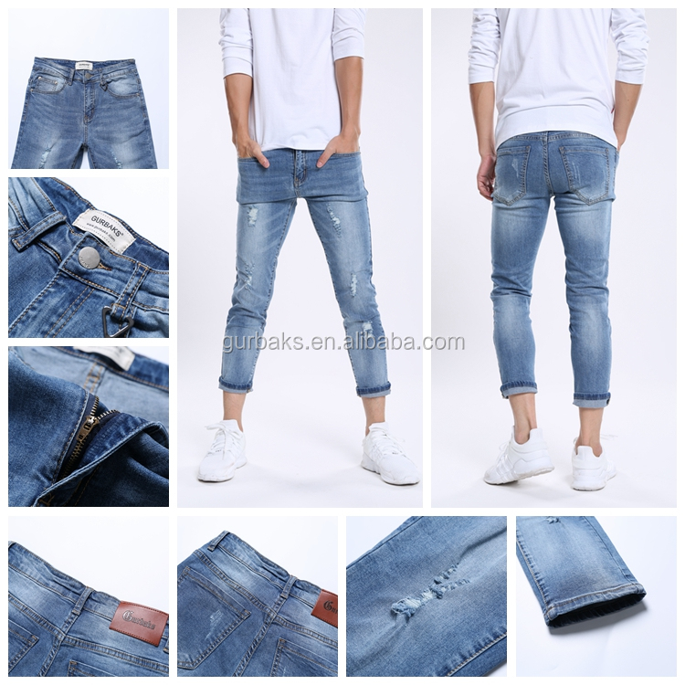Latest Design Hot Selling Jeans Boys Biker