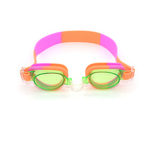 wholesale 100% silicone anti-fog PC lens colorful and funny swimming goggles good waterproof safety glasses for kid