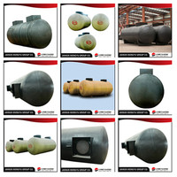 Factory low price 30000 liter stainless steel lpg horizontal oil tanks, double walled fuel fibreglass oil storage tanks