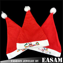 Ordinary children christmas hat,dancing santa hats,funny christmas hats