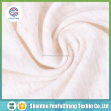 China gold supplier organic weft knitted 100% cotton fabric