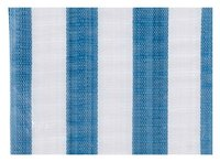 PE tarpaulin - blue and white stripes, canvas tarpaulin, waterproof fabric