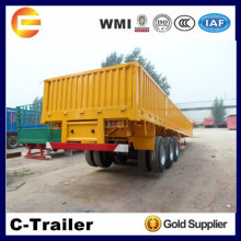 China High Quality 3 Axles 40Tons strong box utility trailer
