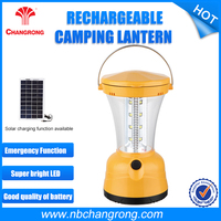 Hand Crank Solar Camping Light , 4 Led Camping Light