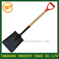 types of plastic grip short wooden handle garden shovel