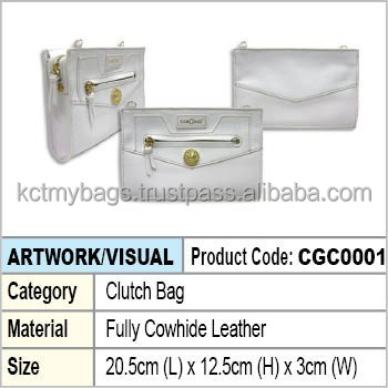 Lady Leather Clutch Bag
