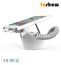 Easy to install mobile display stand with security alarm-Shiny Series