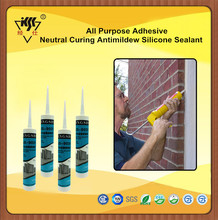 All Purpose Adhesive Neutral Curing Antimildew Silicone Sealant