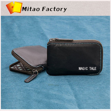 Mitao Factory 2014 New Designing Magic Tale Very Small Wallet Clutch Bag in Zipper Colosed Bellory Slim Travel Function Purse