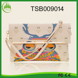 2014 Yiwu Top Design Owl Promotion Sling Bags