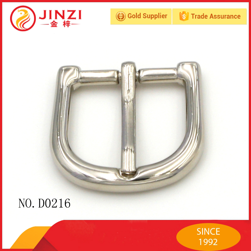 High Quality Metal Tongue Pin Buckles with Material Zinc Alloy
