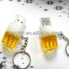 2014 New giveaway beer usb flash drive, cheapest flash memory