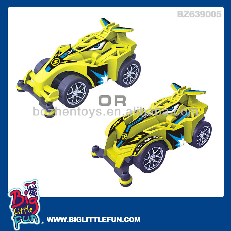 rc mini solar racing car