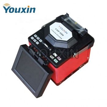 Stable Reliable FTTH Optical Fiber Fusion Splicer with Cleaver