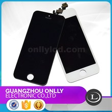 LCD Touch Screen Digitizer Assembly for iphone 5 Best Qualitblack color for iphone 5 lcd display with touch assembly