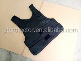 Kevlar bulletproof vest with plates insert NIJ IIIA against ak47