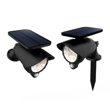 IP65 New outdoor solar spot ground light for garden pathway park wall yard