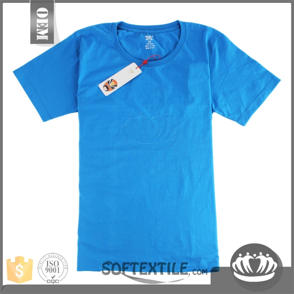 softextile New custom tee shirts 100% cotton crew neck blank t shirt garment stock lot