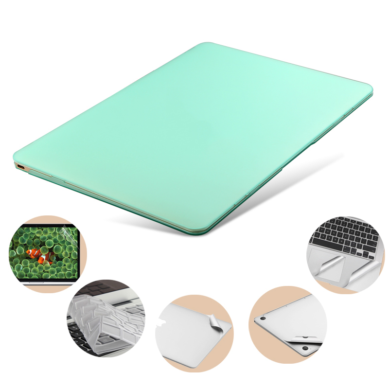 Hard Plastic Snap on Case Shell+Keyboard Cover for Macbook 13.3 pro