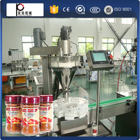 high speed factory price automatic pepper powder chilli powder filling capping machine for glass bottle