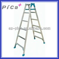 Double side aluminium herringbone ladder