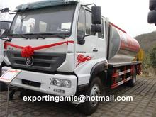 hot sale 4x2 drive Euro4 12 cbm sinotruk bitumen emulsion sprayer truck