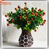 High simulation Eucalyptus Eucalyptus happy red leaves of grass artificial plants fruit fruit home decorations