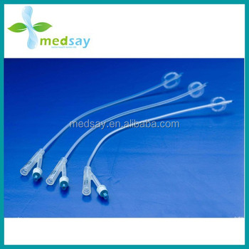 Silicone Foley Catheter 2-way standard