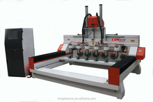 Multi spindle cnc router wood carving machine price mdf cutting machine price 4 axis woodworking machine