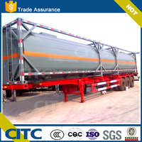 2015 Africa widely used cooking oil tank container