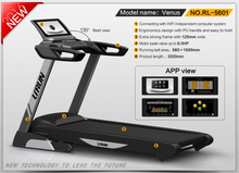 New launched semi commerical motorized treadmill with Folding pro life treadmill