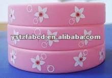 2012 New Fashion & Colorful Beauty Silicon Bands Bracelets
