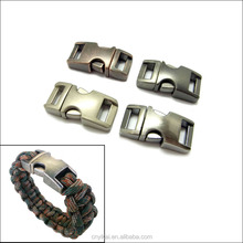 paracord metal buckle/ metal paracord buckle/metal clip for bracelet