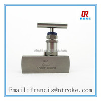 fuel needle valve stainless steel of different size