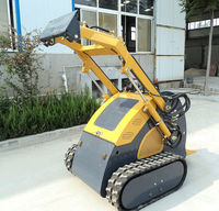 cheap hydraulic control mini track skid steer loader on hot sale