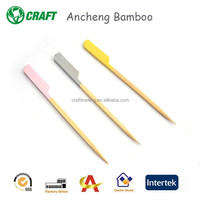 Factory disposable originals bamboo gun skewers for spiral potatoes