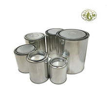 empty paint tin can with lids factory